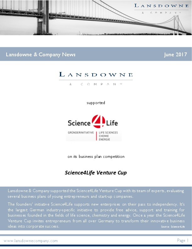 Lansdowne & Company News June 2017